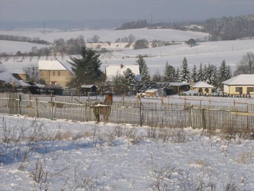 Pohled naseverní část obce