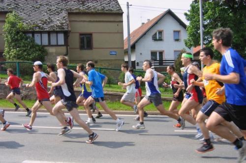 Běh osvobození- Lišanská silniční sedmička