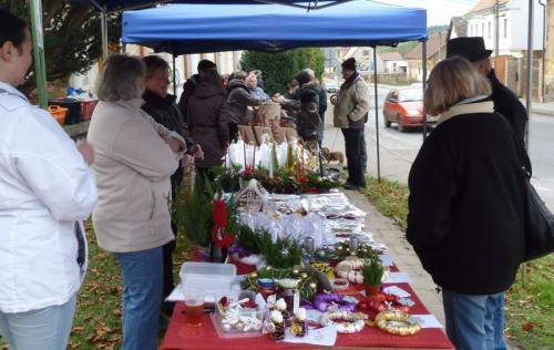 Lišanský advent 2014, jarmark