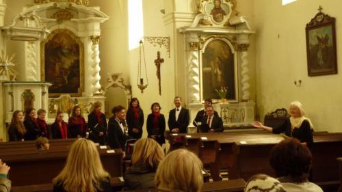 25.4.2015 jarní koncert koslavě sv.Vojtěcha- Chorus Carolinus Kladno asbor Smetana Kladno