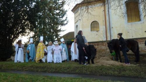 Živý betlém 2016v Lišanech